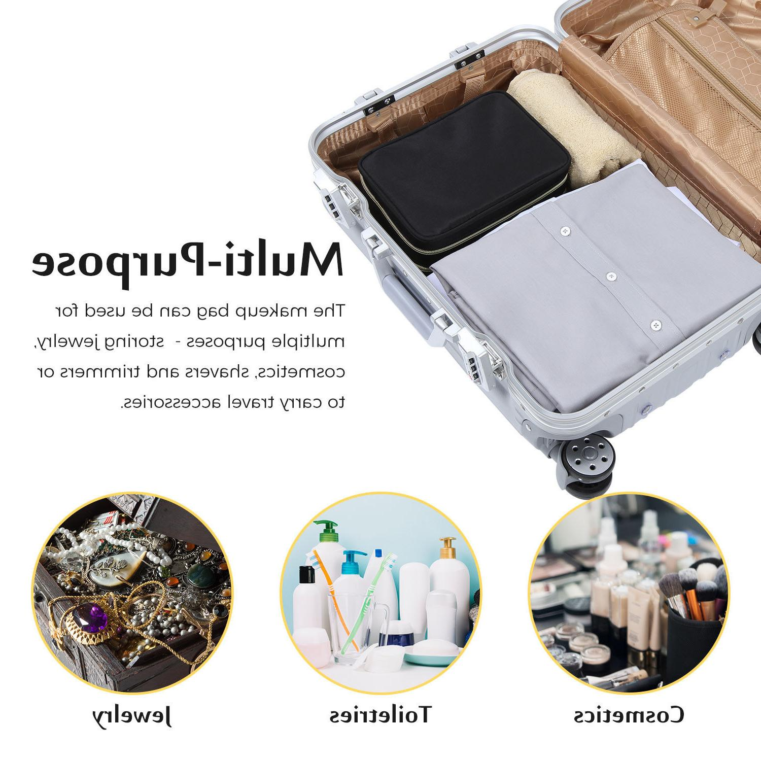 Lifewit Travel Makeup Cosmetic Portable Holder Storage Case