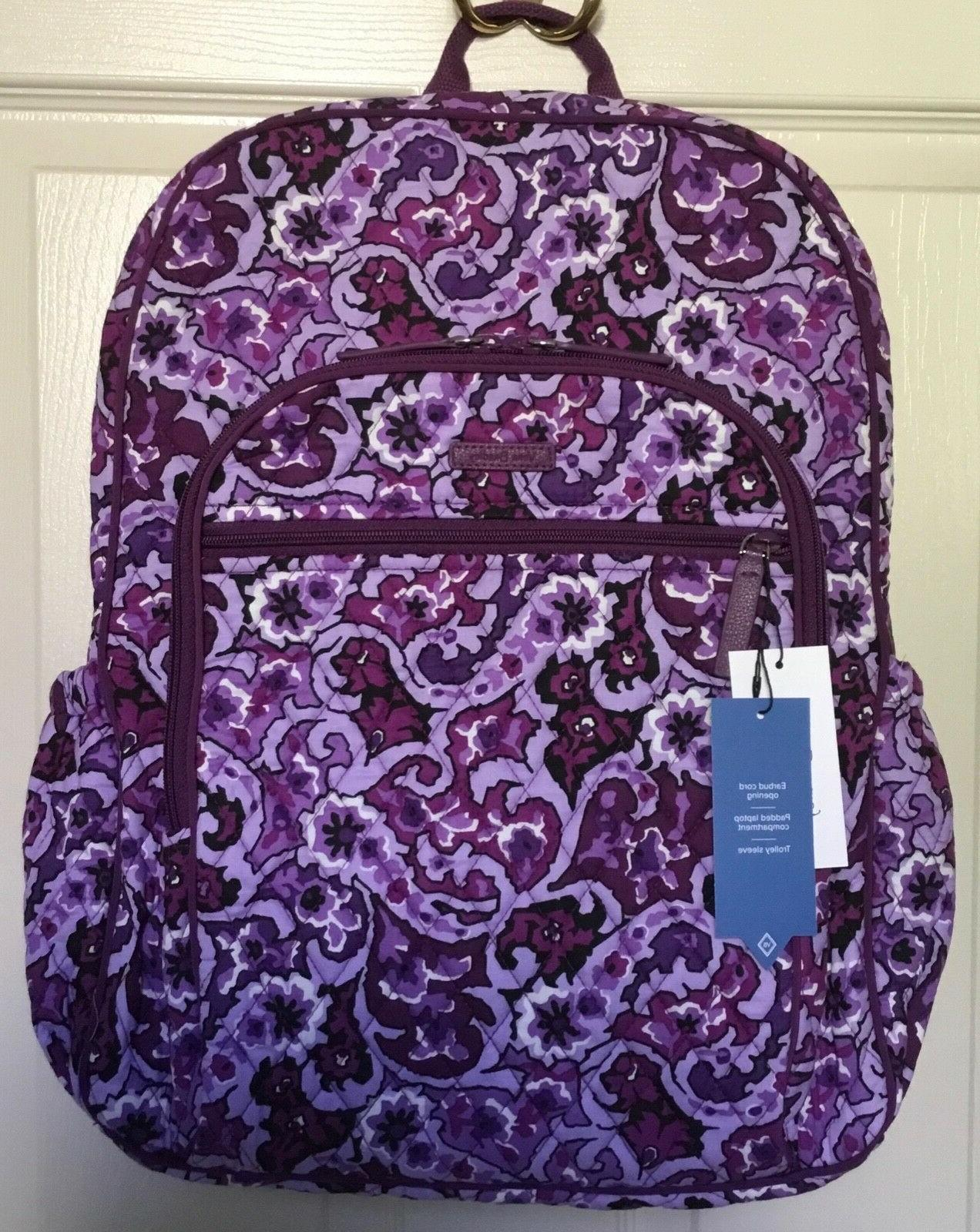 edbd99b9c5 Vera Bradley Women s Campus Tech Backpack