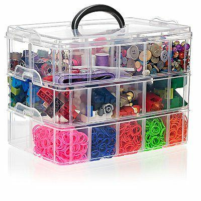 Arts Crafts for Hobby Beads Jewelry Legos Multi Purpose