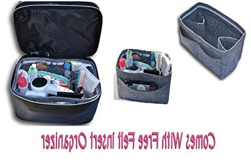 and Toiletry with Felt Big Multi and for Mirror Great Travel and Gift