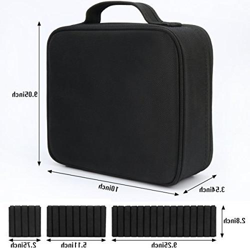 Travel Portable Travel Cosmetic Case Organizer Artist Bag for Toiletry