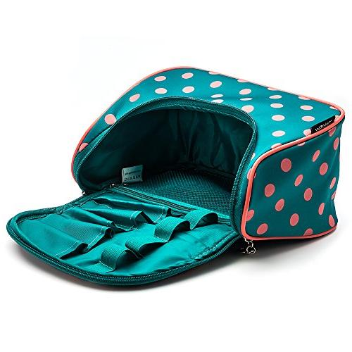 Toiletry Bag Polka Dots Travel Bag with
