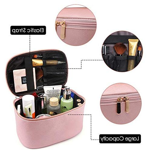 Cosmetic Cosmetics MakeUp Case Organizer with Brush Valentine's
