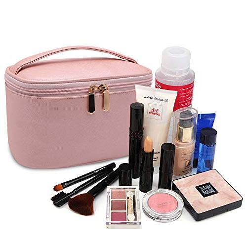 Cosmetic Bag,365park Cosmetics MakeUp Case with Valentine's