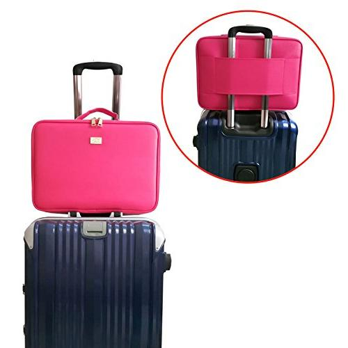 Leather Makeup Mini Bag Portable Travel Bag Case Girl