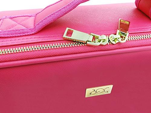 ROWNYEON Makeup Makeup Bag Travel Makeup Bag Case Best For Girl