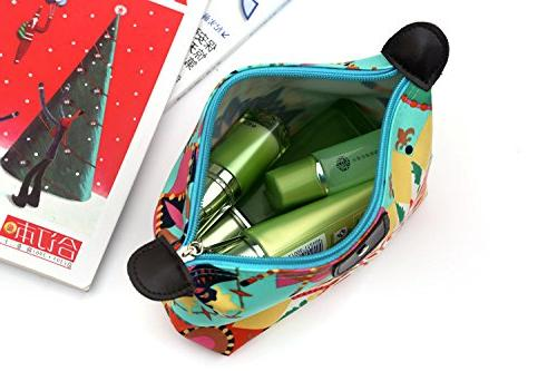 943ccc41d7a8 HOYOFO Women's Travel Cosmetic Bags Small Makeup Clutch