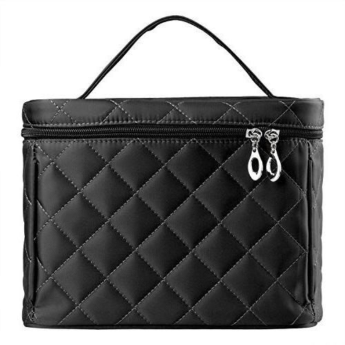 Big Size Bag Quality Zipper Layer Case Black