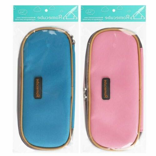 Homecube Pen Case Cosmetic Bag Makeup Organizer Stationery Box