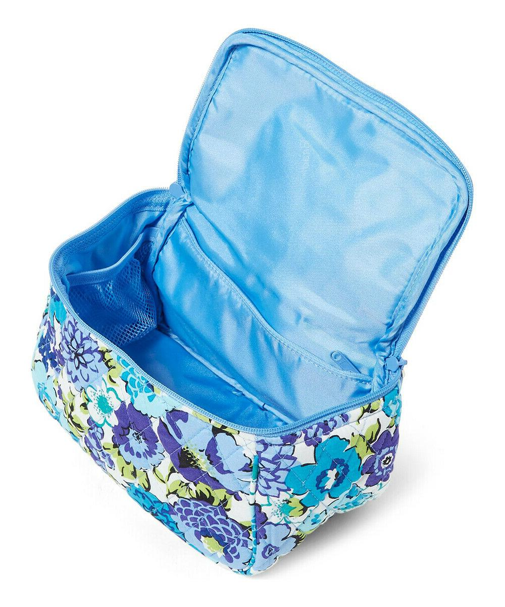 Vera Bradley **BLUEBERRY BLOOMS** Travel Cosmetic