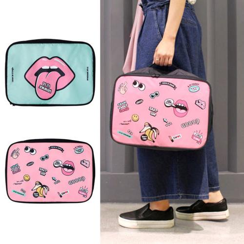 Cartoon Makeup Travel Cosmetic Bags Case Multifunction Pouch