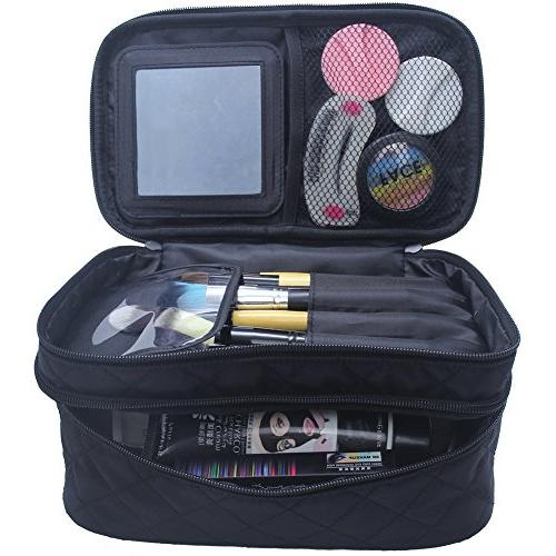 Large Cosmetic Makeup Bags Storage Organizer Professional Makeup Pouch for Travel