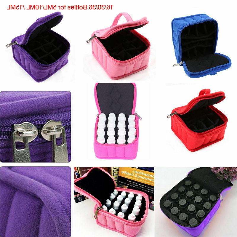 Casual Portable Oil Carrying Case For Nail Polish Makeup Cos
