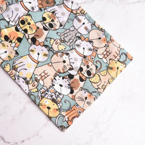 Cat Wrap Roll Up Pen Brushes Pouch SL