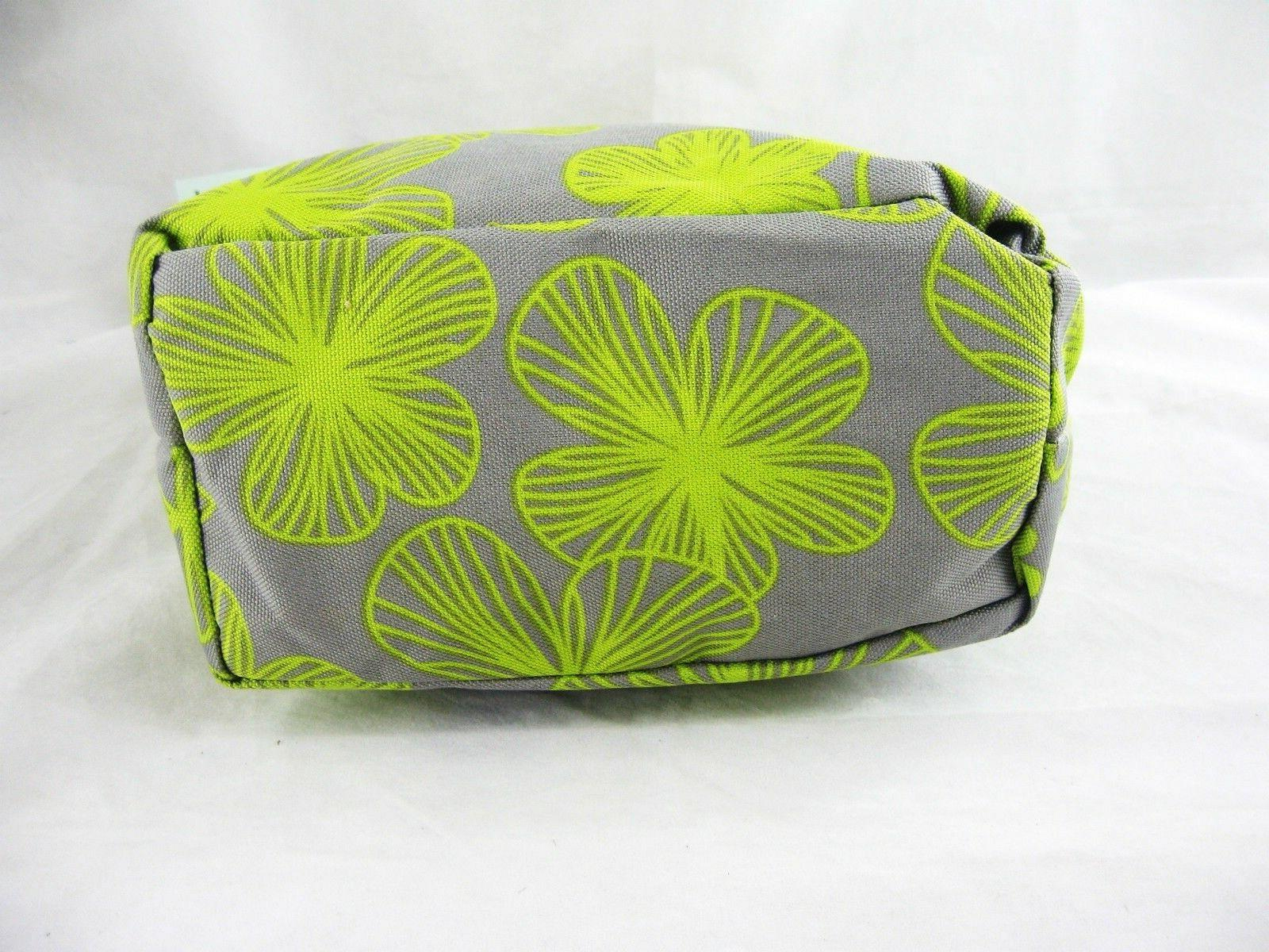 Chartreuse Insulated Lunch Tote Cosmetic Makeup Bag