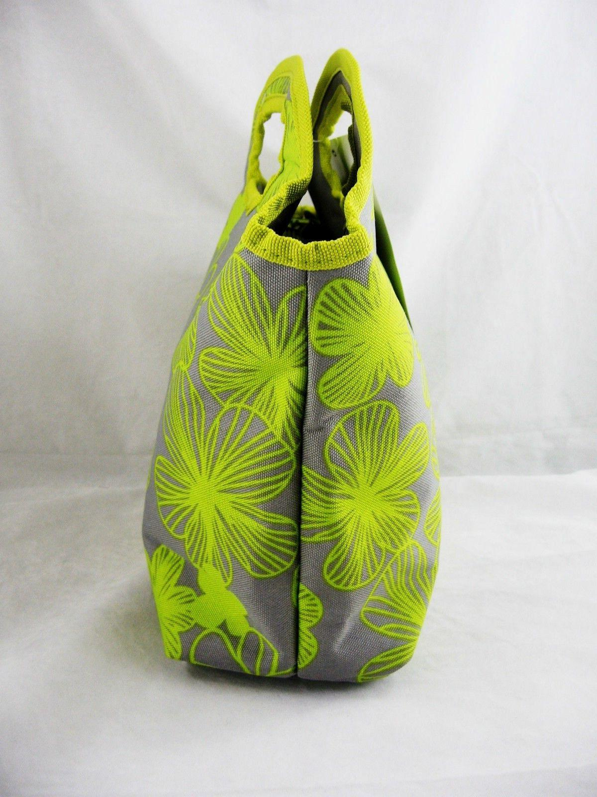 Chartreuse Zippered Insulated Lunch Bag