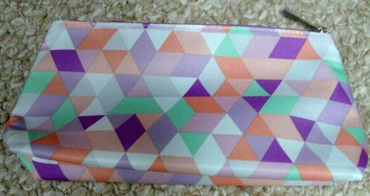 colorful cosmetic makeup bag