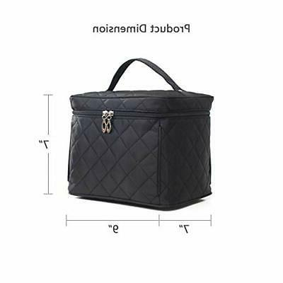 Toiletry Cosmetic Train Case,