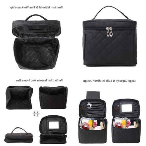 comestic bag travel toiletry large cosmetic train