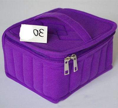 Cosmetic Bag Essential Oil Perfume Carrying Case Nail Polish