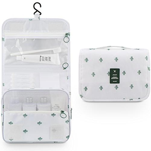 Cosmetic Bag, Girls Durable Carry Case Gym Catus