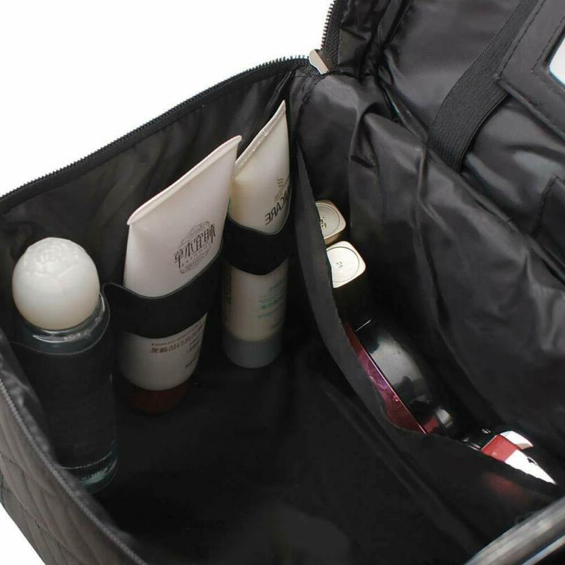 Toiletry Large Cosmetic Train Case,