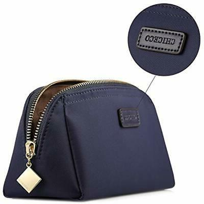 Cosmetic Handy Pouch Clutch Makeup Navy