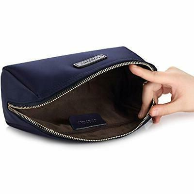 Cosmetic Bags Pouch Navy Blue