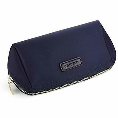 Cosmetic Bags Pouch Makeup Navy Clothing