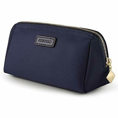 cosmetic bags handy pouch clutch makeup navy