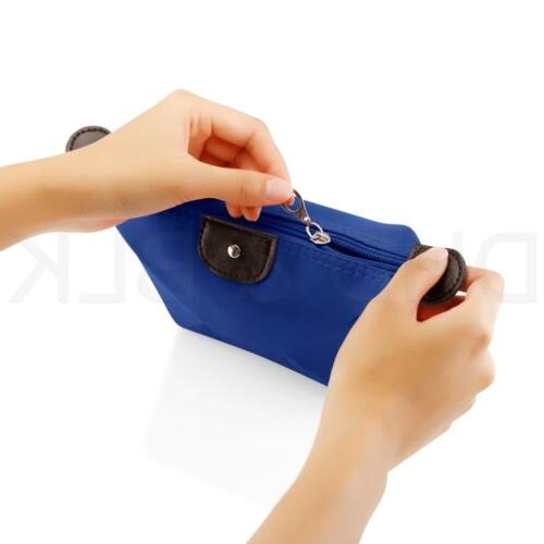 Cosmetic Case Zipper Holder Handbag Travel Toiletry