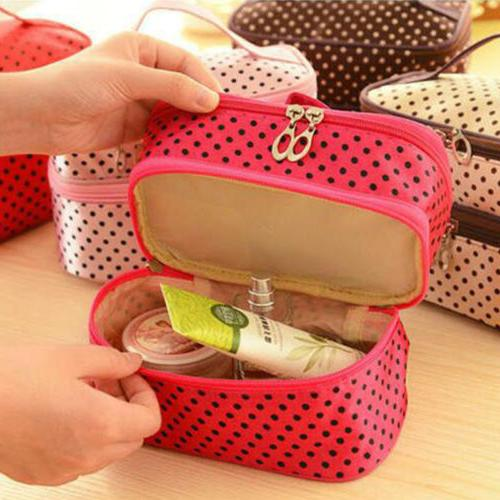 Cosmetic Makeup Travel Toiletry Organizer