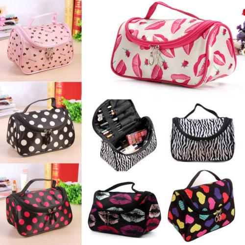 Ladies Toiletry Women Cosmetic Makeup Case