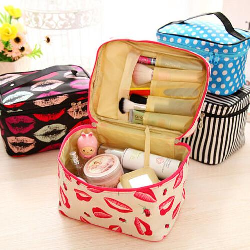 Cosmetic Beauty Case Travel Toiletry Holder Organizer Storage Bag