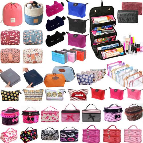 cosmetic beauty makeup case travel toiletry wash