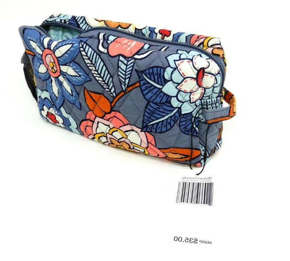 VERA Makeup Bag w/Zipper Large 4