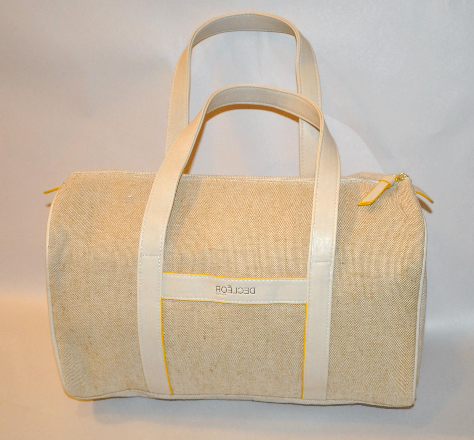 cosmetic makeup large travel tote bag fully