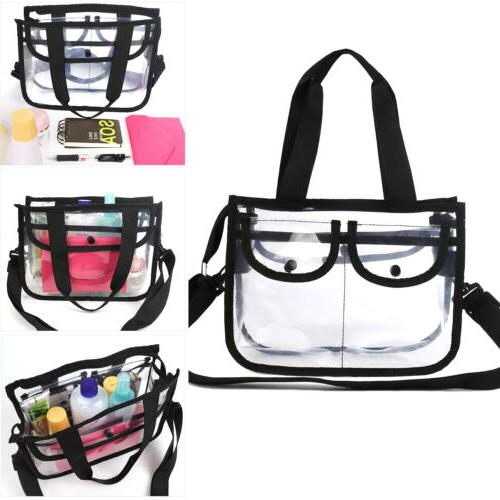 Cosmetic Makeup Toiletry Clear Travel Wash Bag Holder Pouch
