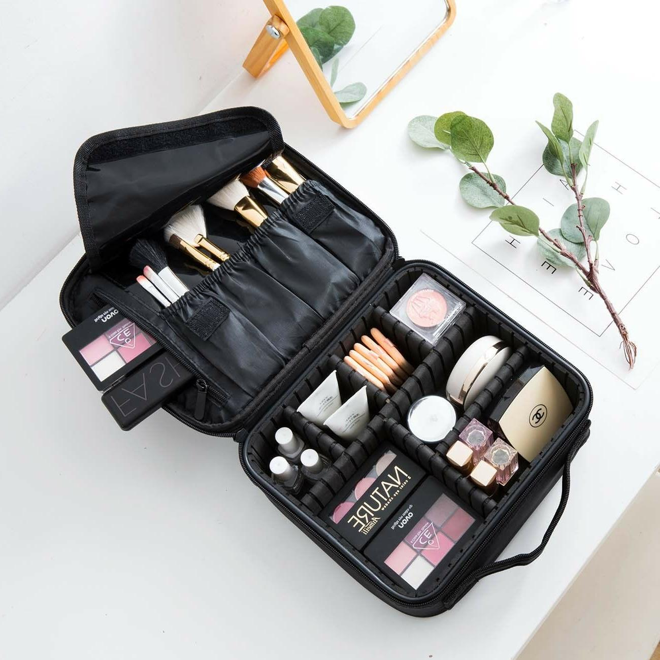 cosmetic organizer case large makeup bag storage