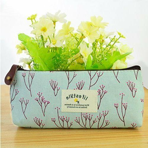 Miayon Countryside Pencil Case Makeup Set Of 3 By