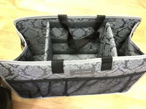 Mary Deluxe Consultant Cosmetic Travel Bag SEE PICS!
