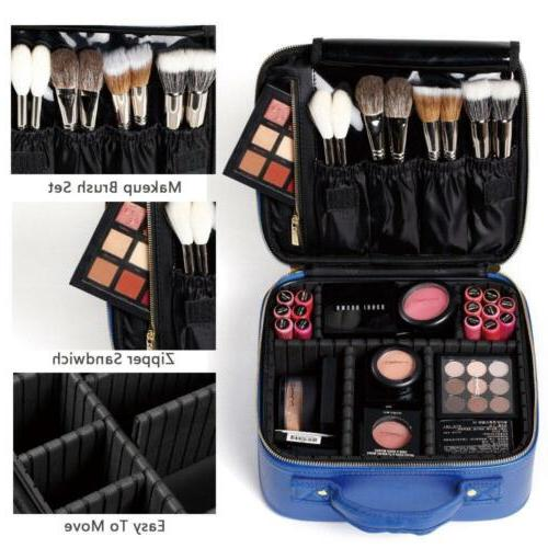 Makeup Case Mini Portable Travel...