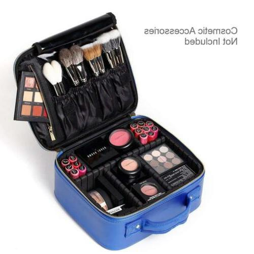 ROWNYEON Makeup Case Mini Bag Portable