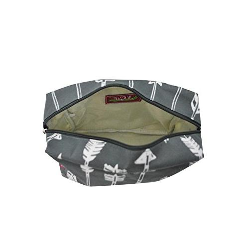 N. Travel Cosmetic Pouch