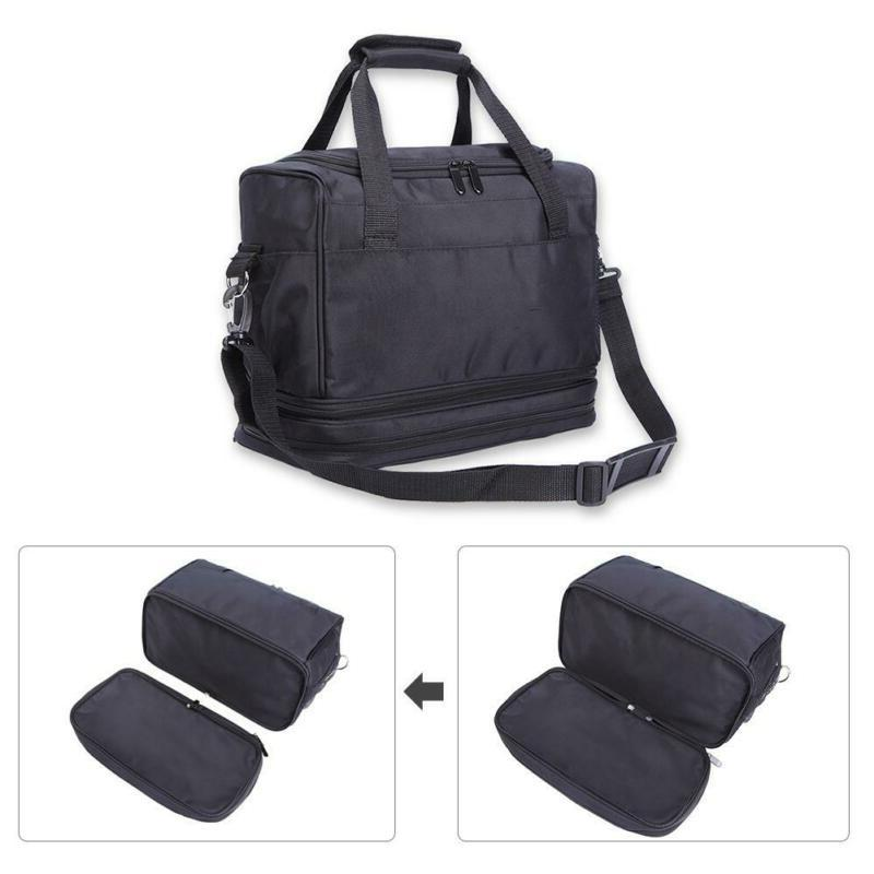 Hairdressing Bag Portable Cosmetic Organizer With Accessory Pockets