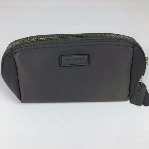 CHICECO Pouch Clutch Makeup Gray New