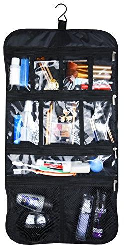 Premium Hanging Toiletry Travel Bag - Cosmetic, Jewelry, Toi
