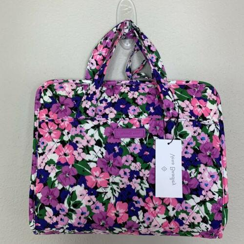 Vera Hanging Organizer Cosmetic Bag Case Flower