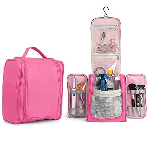 4c3c05848065 TravelMore Large Hanging Toiletry Bag Travel Cosmetic Kit