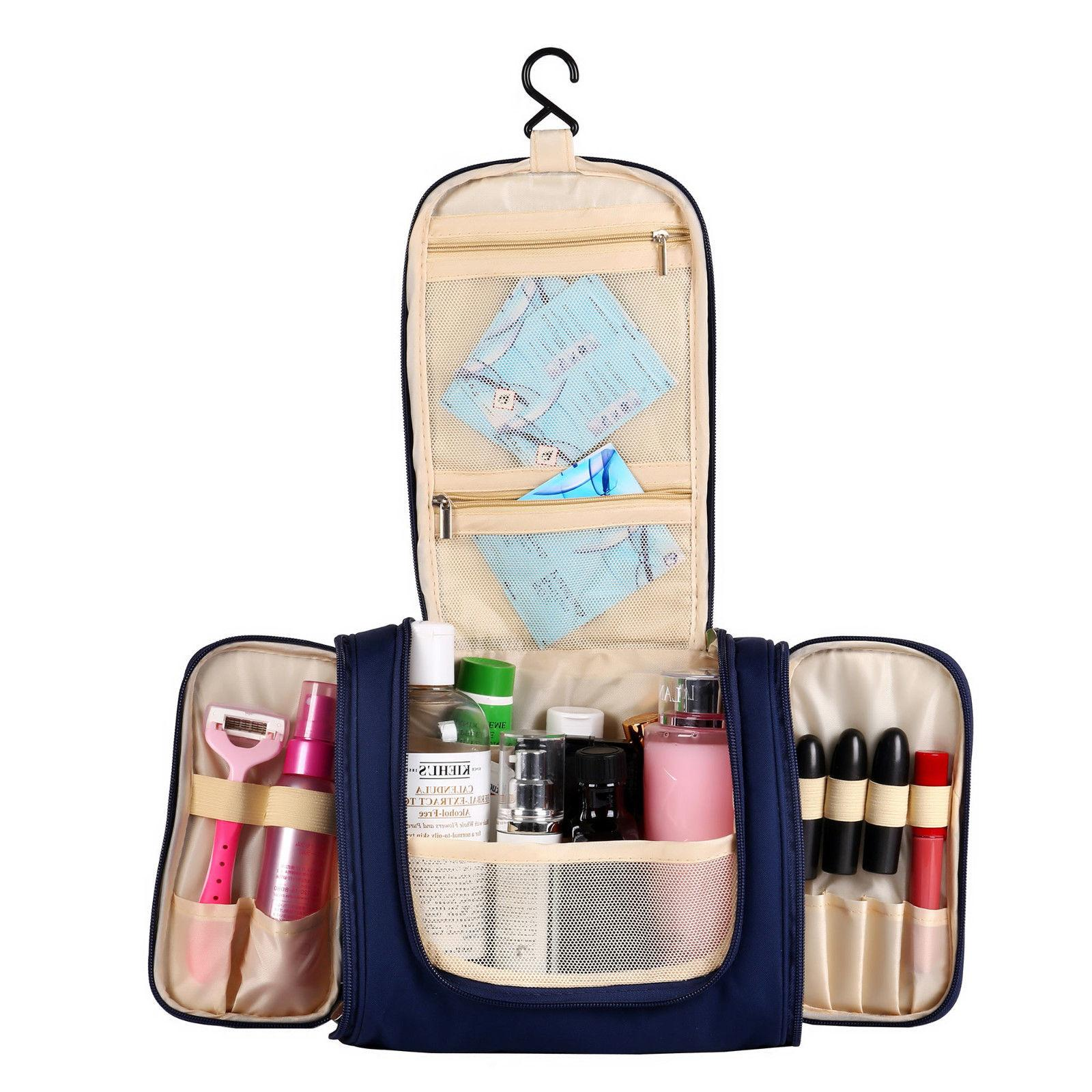 Hanging Toiletry Cosmetic Kit Large Essentials